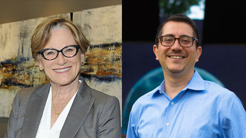 Margaret Moore and Jose Garza (Courtesy Moore and Garza campaigns)
