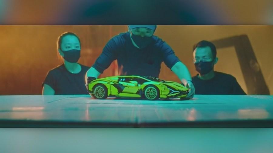 Lego unveils Lamborghini model kit