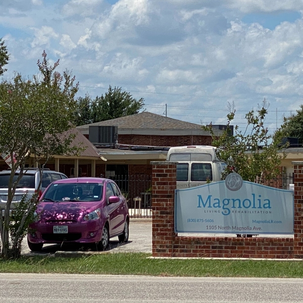Magnolia Living and Rehabilitation in Luling on June 16, 2020 (KXAN Photo/Tahera Rahman)