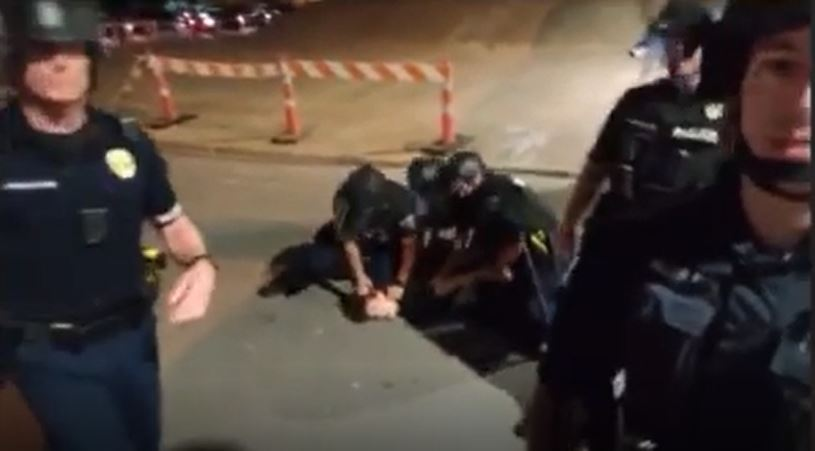 protester arrest garcia 2