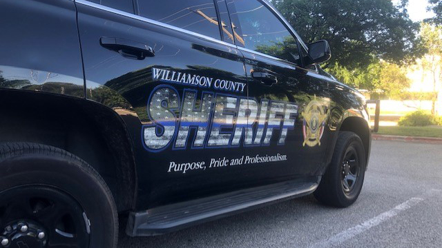 williamson county sheriff vehicle