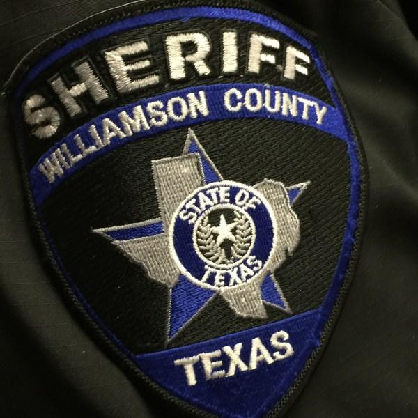 Williamson County Sheriff's Office badge (KXAN Photo/Ben Friberg)