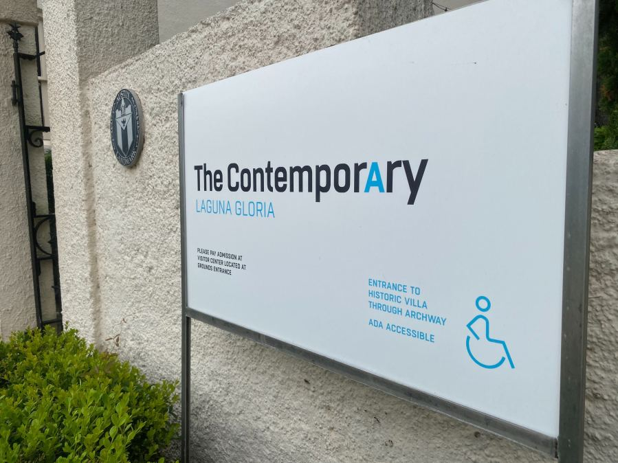 The Contemporary Austin - Laguna Gloria museum (KXAN Photo/Todd Bailey)