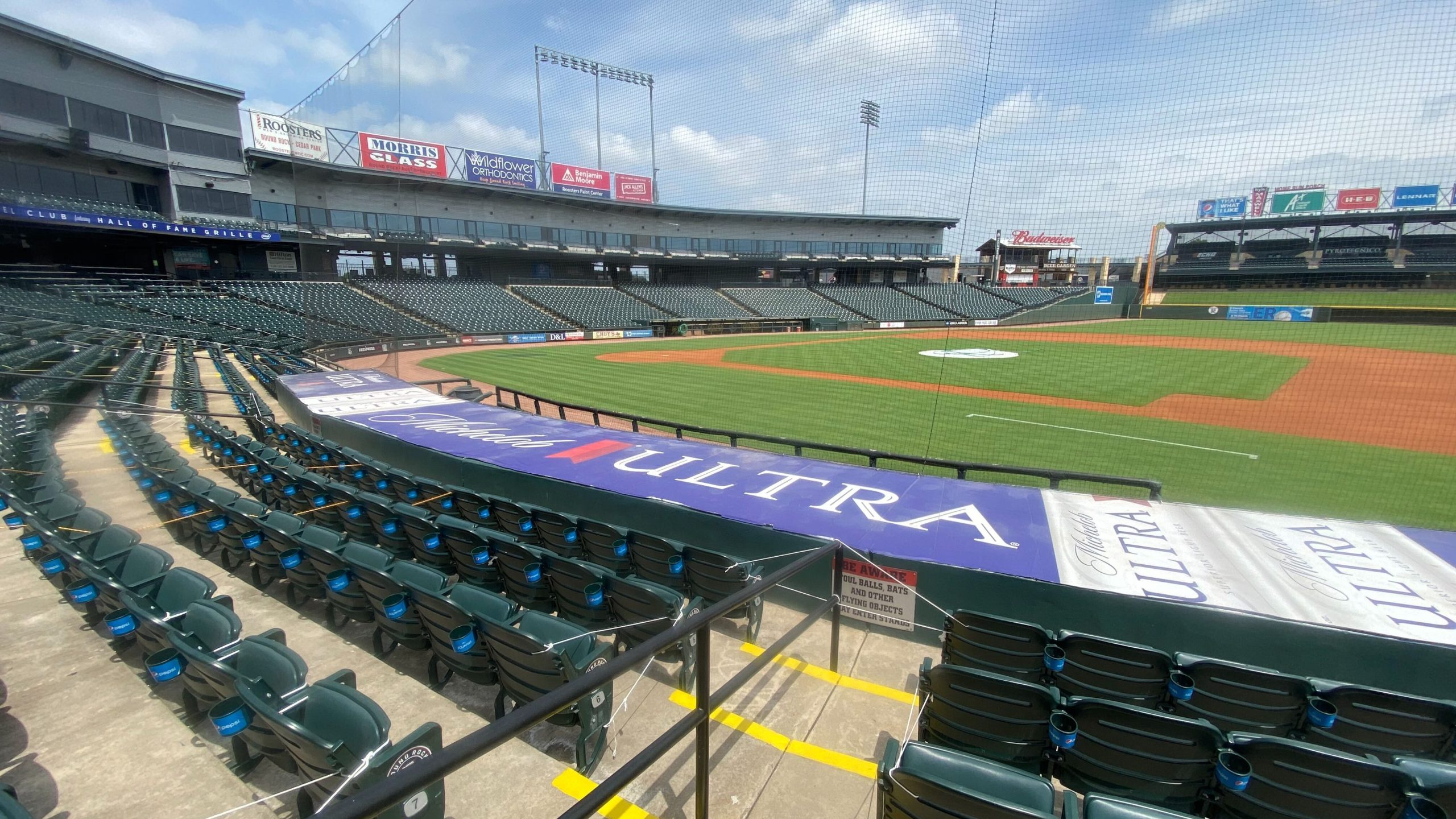 Dell Diamond in Round Rock (KXAN Photo/Todd Bailey)