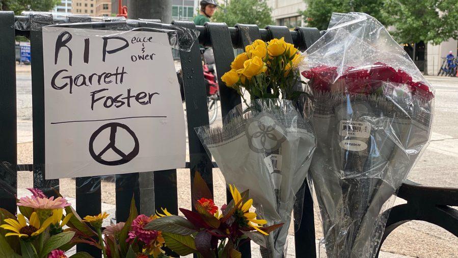 Memorial for Garrett Foster