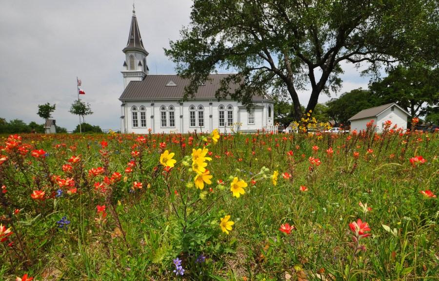 St. Cyril and Methodius Church in Dubina, Texas (KXAN Photo/Ben Friberg)