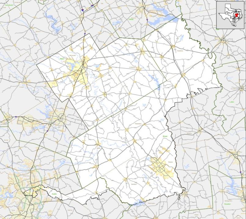 Texas Congressional District 17 (Texas Department of Transportation Photo)