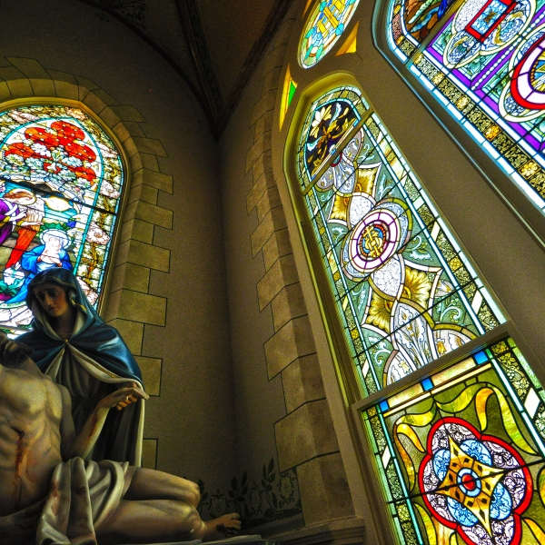 Nativity of the Blessed Virgin Mary Church in High Hill,Texas (KXAN Photo/Ben Friberg)