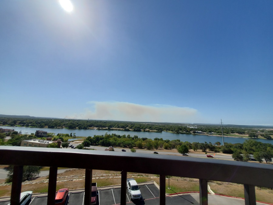 Fire in Horseshoe Bay (Courtesy Diane ONeill)