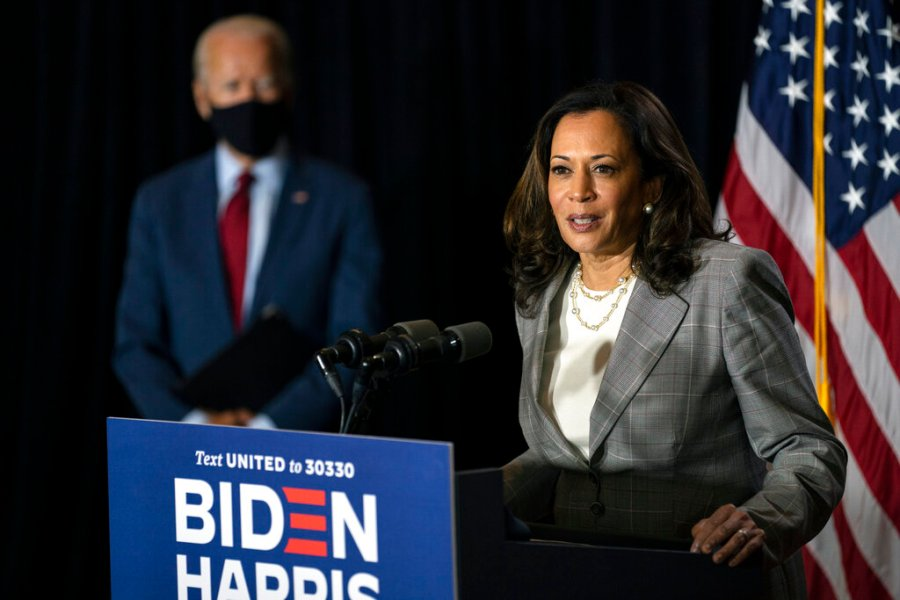 Not Real News: A look at false claims around Kamala Harris