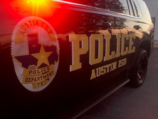 AISD PD patrol car 082520