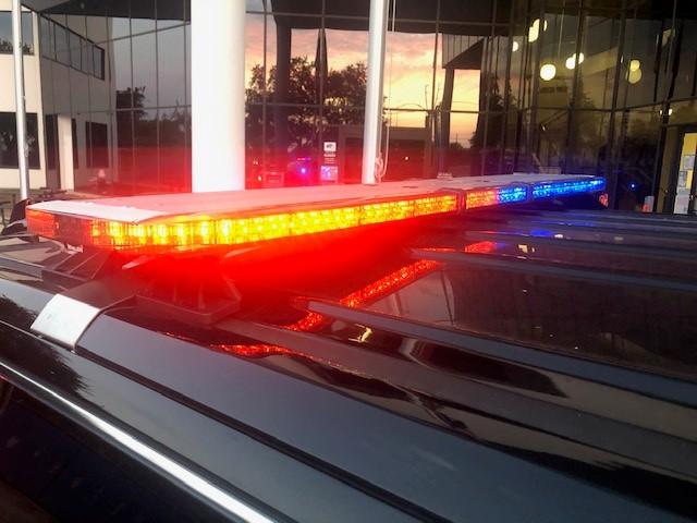 AISD PD patrol car lights 082520