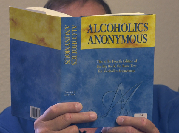 Alcoholics Anonymous is seeing less people show up to online meetings