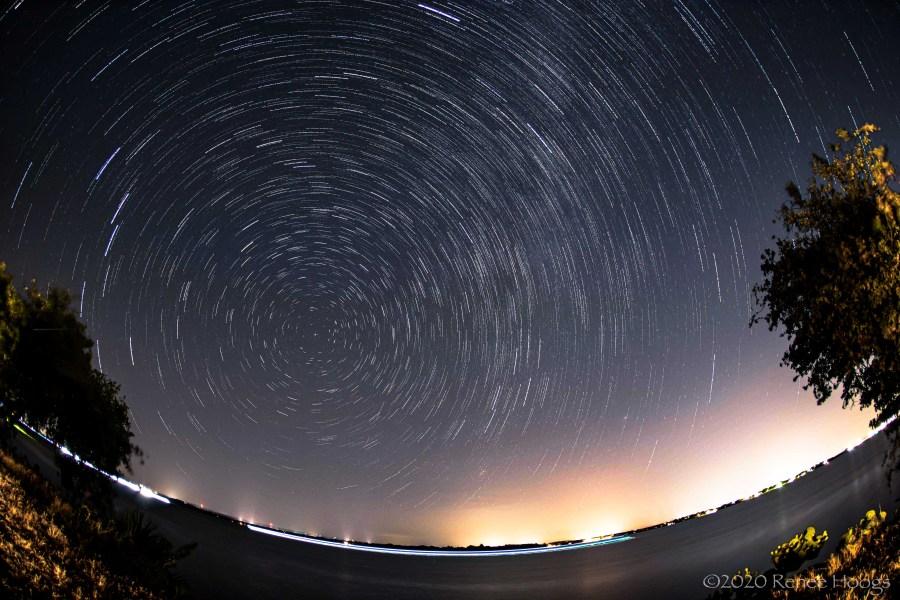Perseid meteor shower 2020 (Courtesy Renee Hoogs)