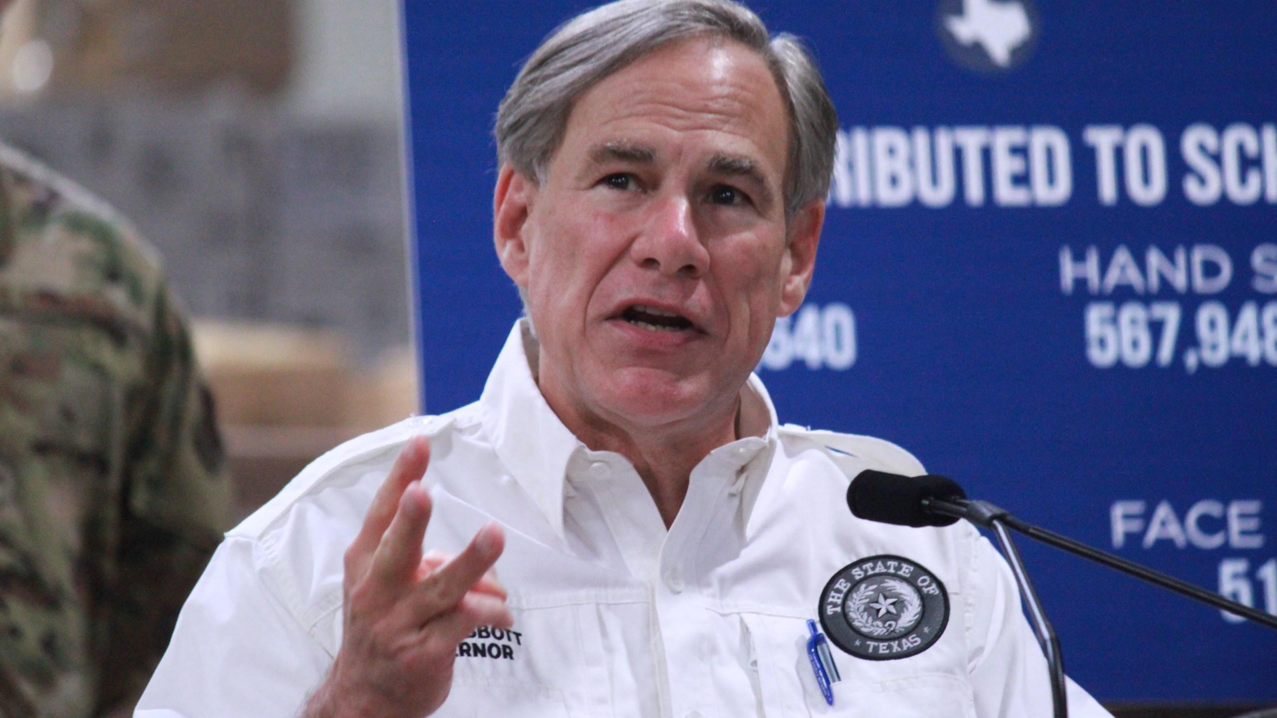 Gov. Greg Abbott updates PPE in Texas