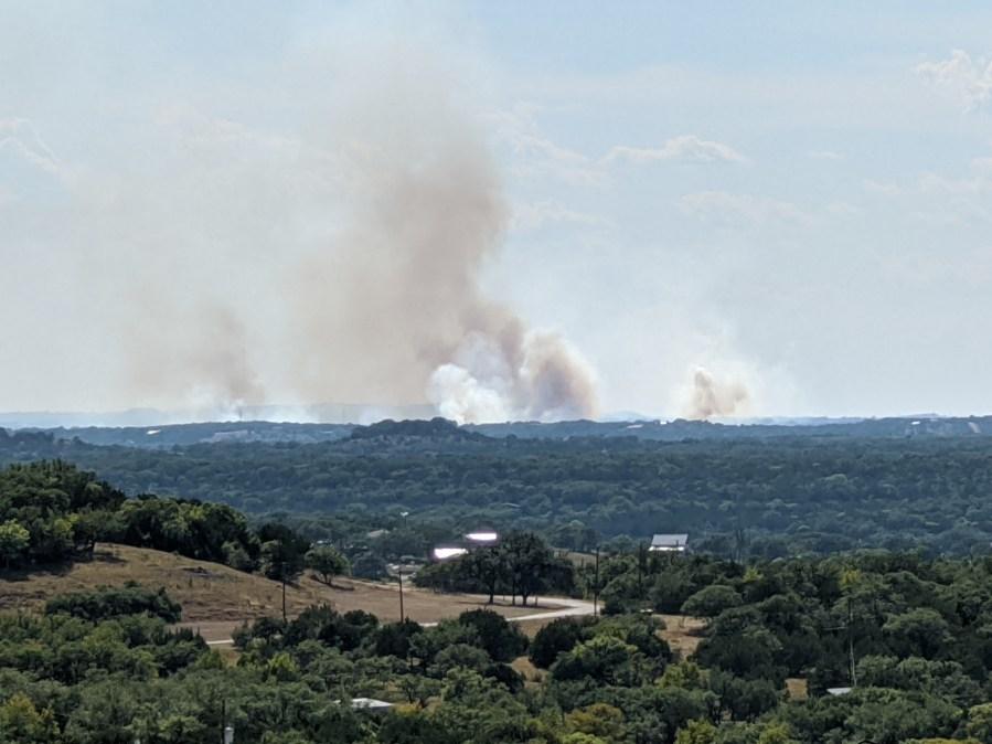 blanco county fire 8-19