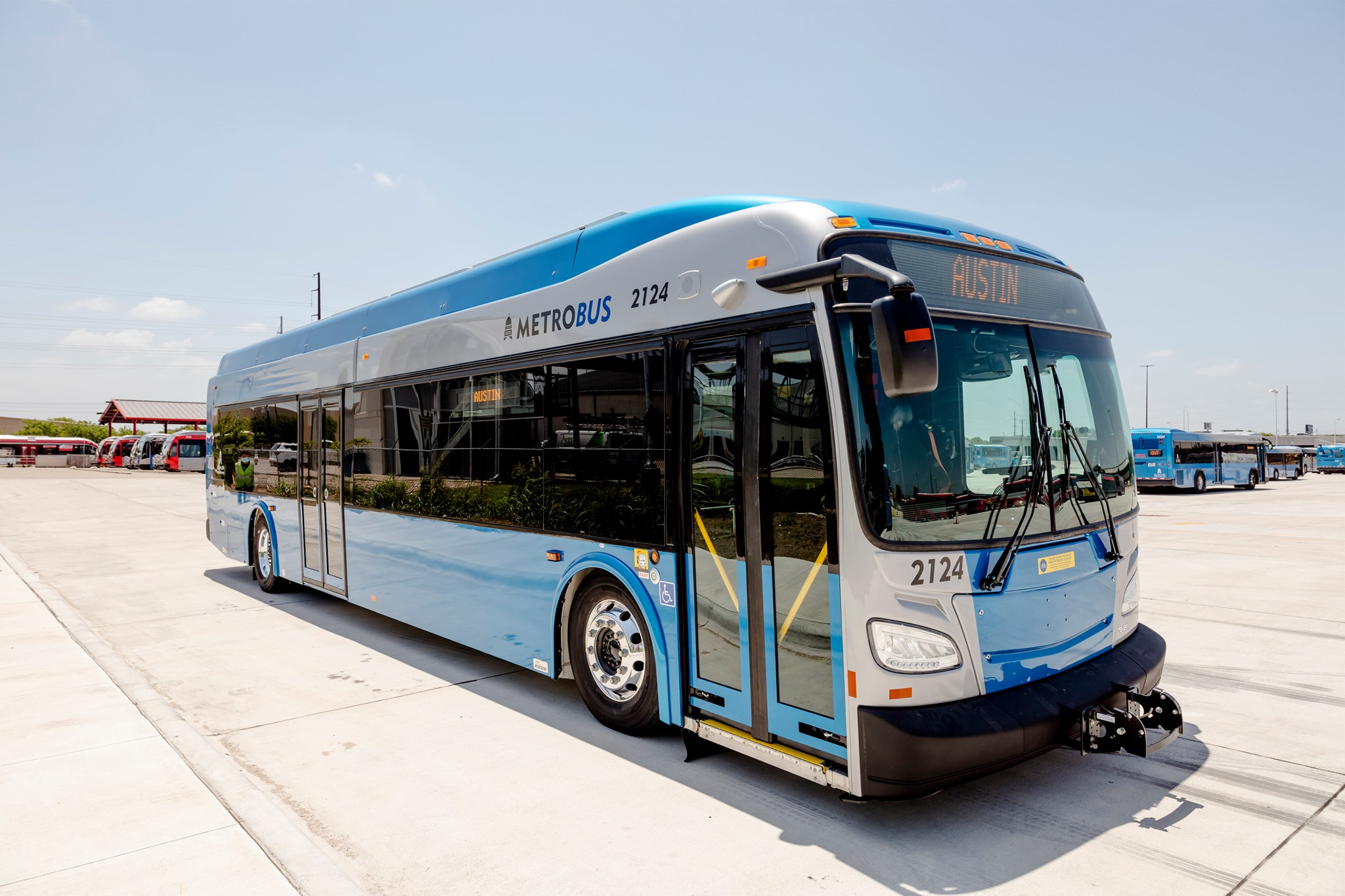 capital metro electric bus