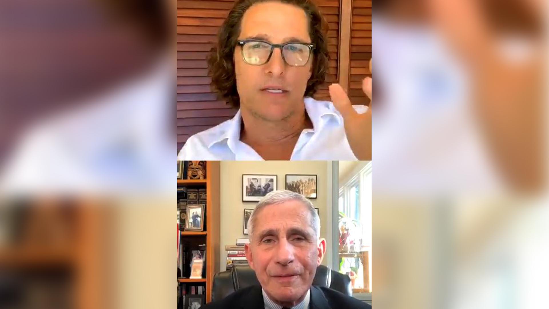 McConaughey fauci interview