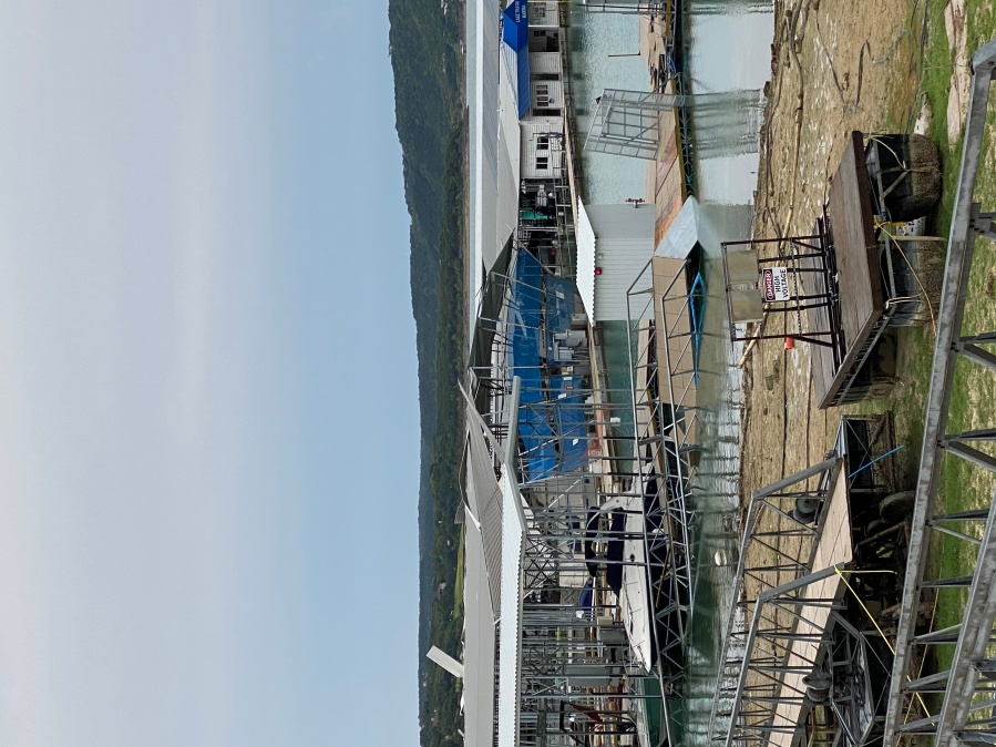 Lake Travis Marina storm damage Aug. 22 (Courtesy of Will Coombes)