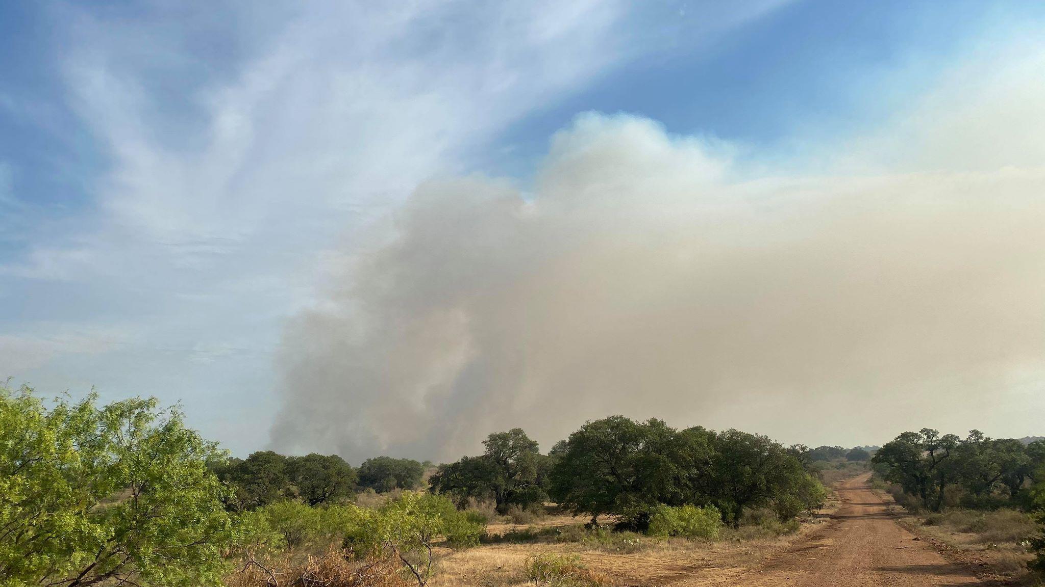 mays fire san saba county