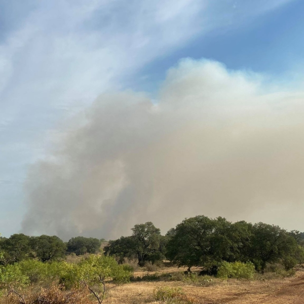 mays fire san saba county