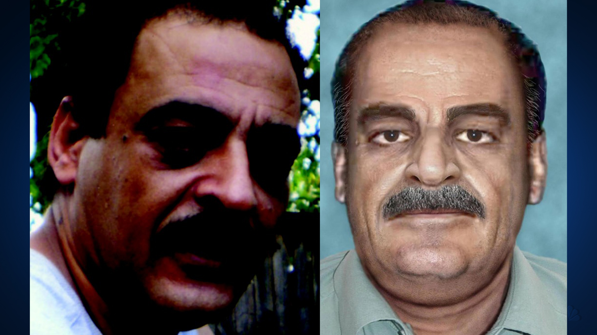 A 2007 and an aged-rendering of Yaser Abdel Said (FBI Photos)