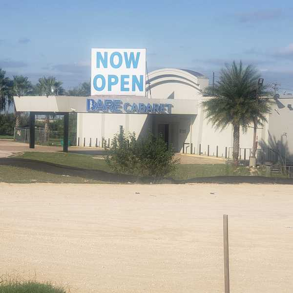 Bare Cabaret strip club on Reservoir Court near Highway 290 (KXAN Photo/Andrew Choat)