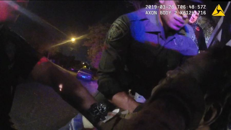 Body cam footage from March 2019 of Javier Ambler's arrest (Austin Police Department body camera recording)