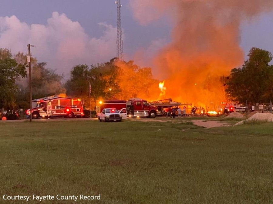 Fayette County home explosion