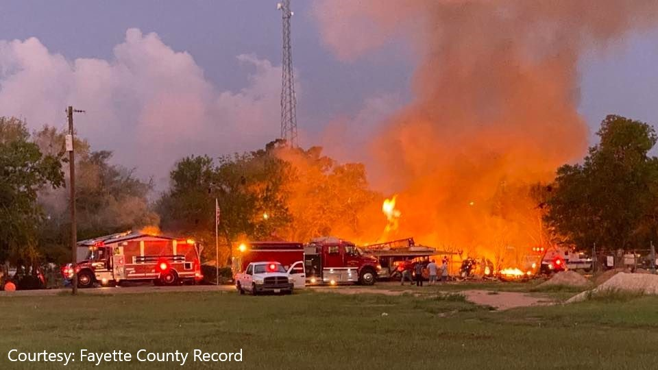Fayette County home explosion2