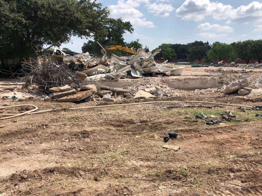 Groundbreaking for new Rosedale School (KXAN Photo/Frank Martinez)