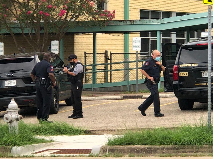 lockdown at Garza High School sept. 17