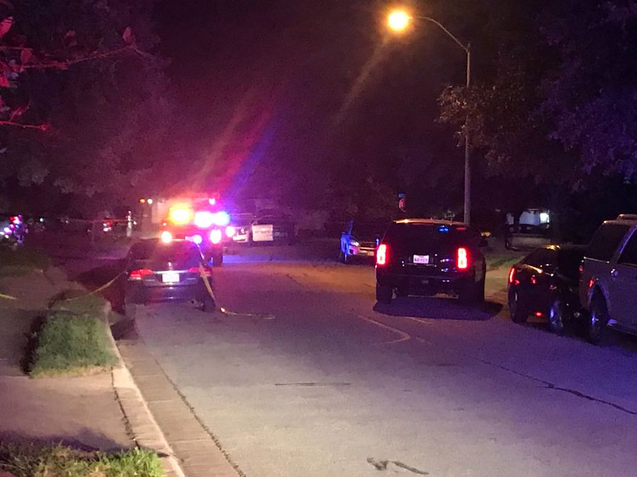 Pflugerville police investigating fatal shooting on Sandwick Drive Sept. 30 (KXAN Photo/Tim Holcomb)