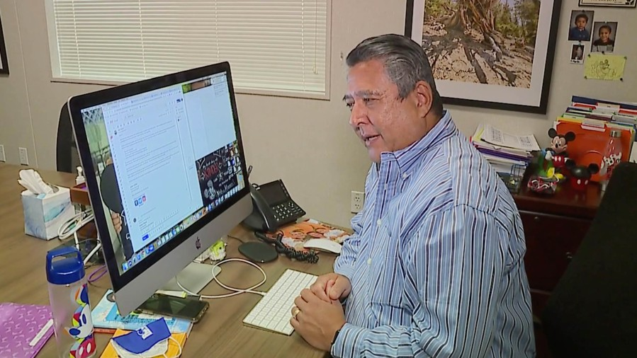 Superintendent Ruben Reyes (KTXL Photo)