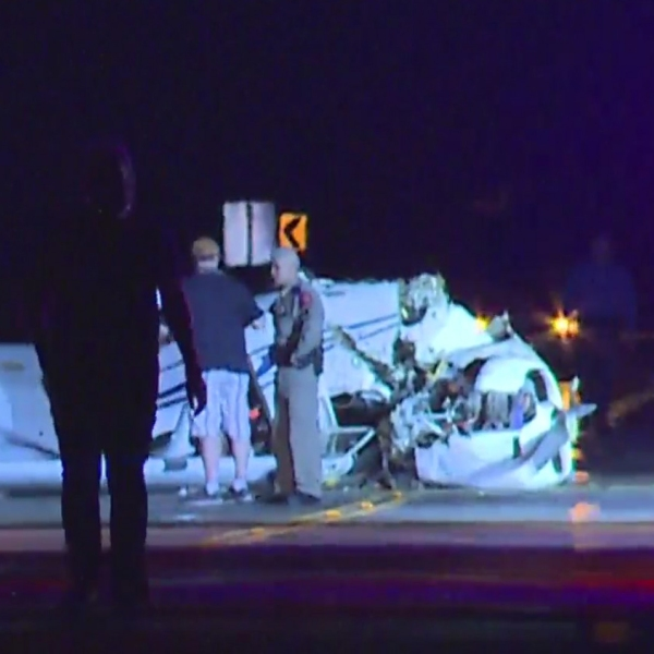San Marcos plane crash Sept. 24 (KXAN/Andrew Choat)