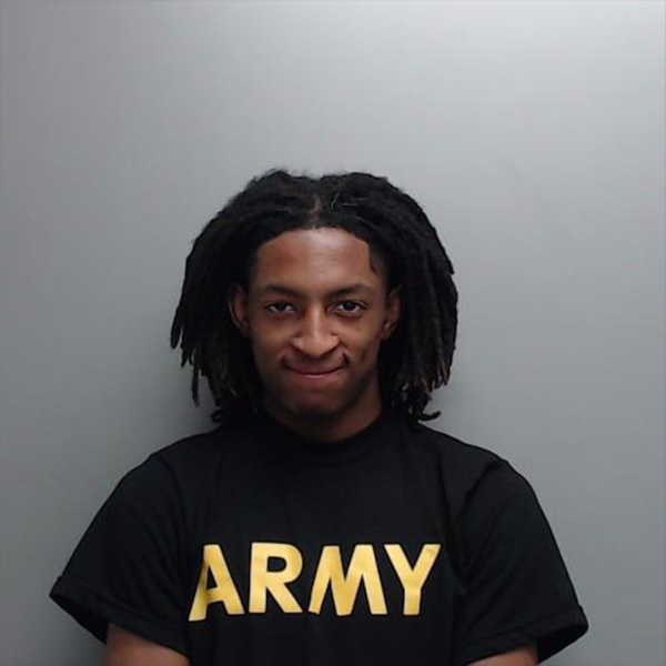 Steven Deshawn Crawford (Hays County Jail Photo)
