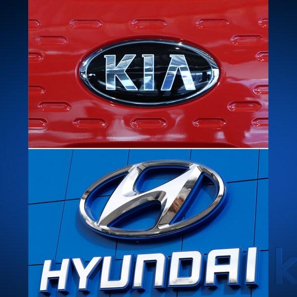 Kia and Hyundai (AP Photos)