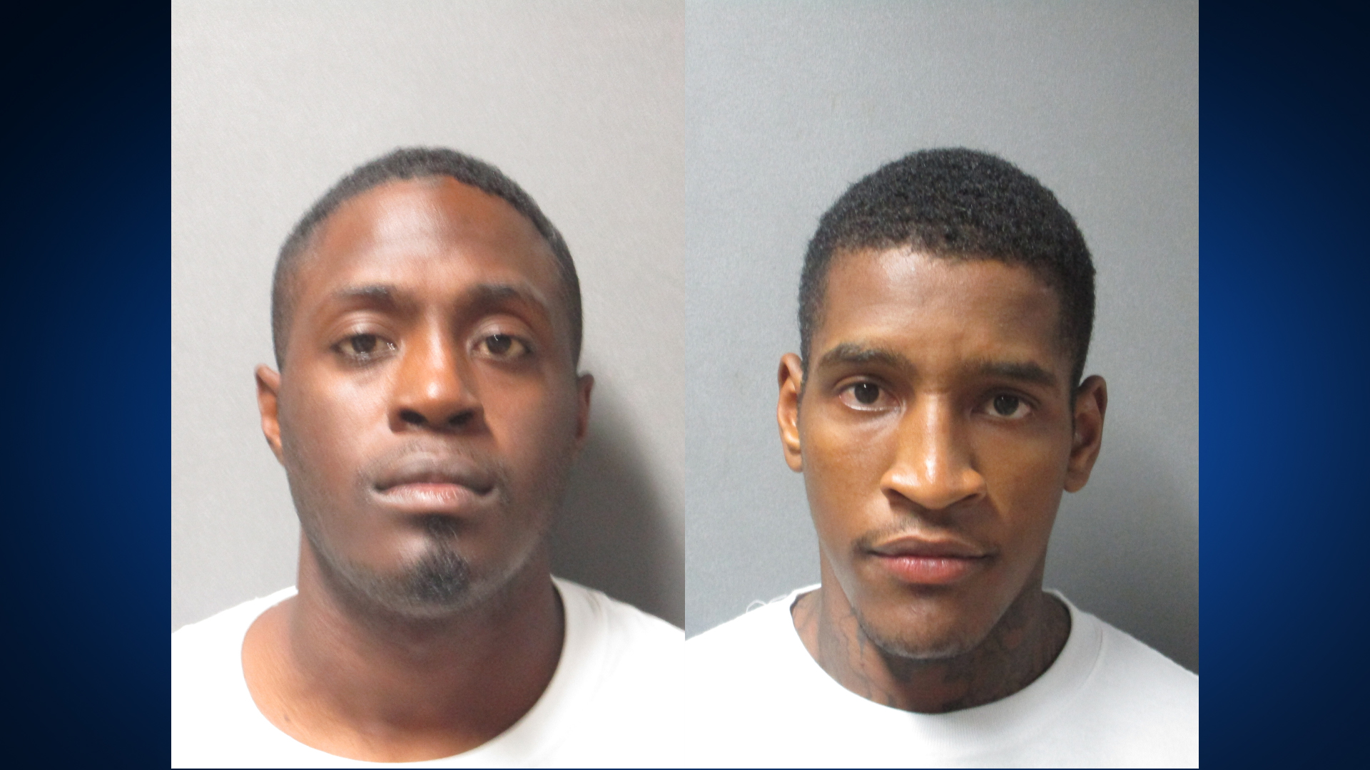 Left: Jerome Ward, Right: Robert Williams III (Llano County Sheriff's Office Photo)