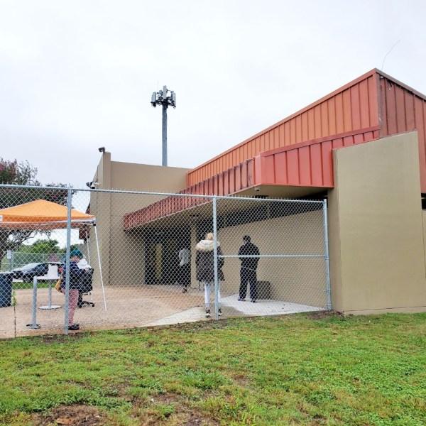 Montopolis Drive COVID-19 testing site (Austin Public Health Photo)