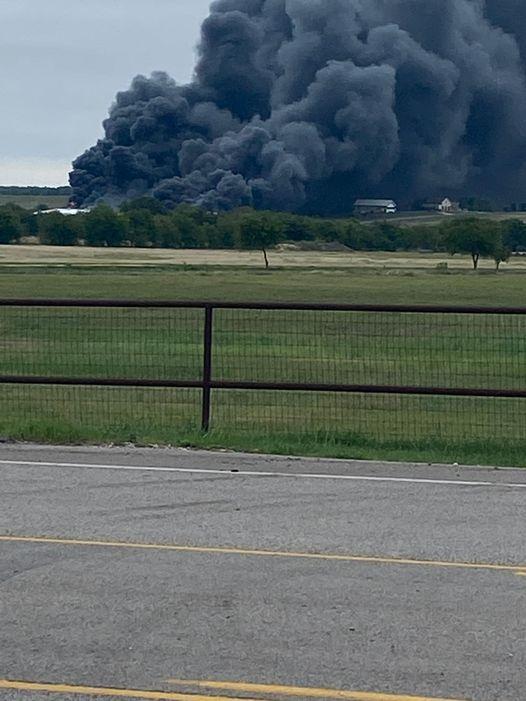 walburg chemical plant fire
