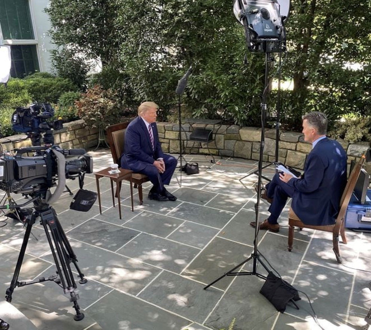 President Trump talks Supreme Court nominee, election, coronavirus and football in NewsNation interview - KXAN.com