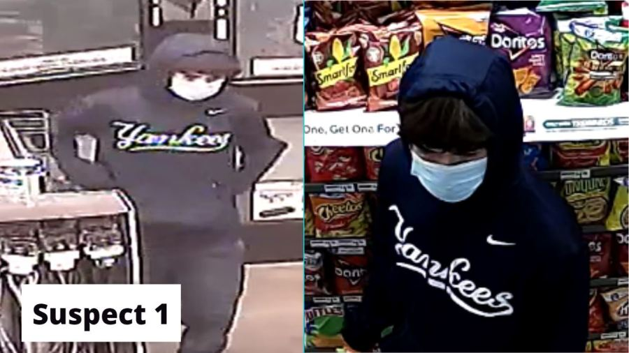 Suspect accused in 7-Eleven robbery on Wednesday, Oct. 14, 2020 (APD Photo)