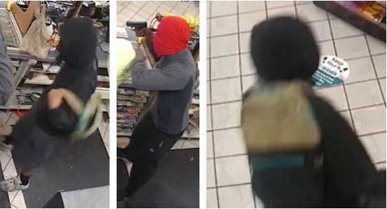 Suspects accused in Oct. 12 7-Eleven robbery (APD Photo)