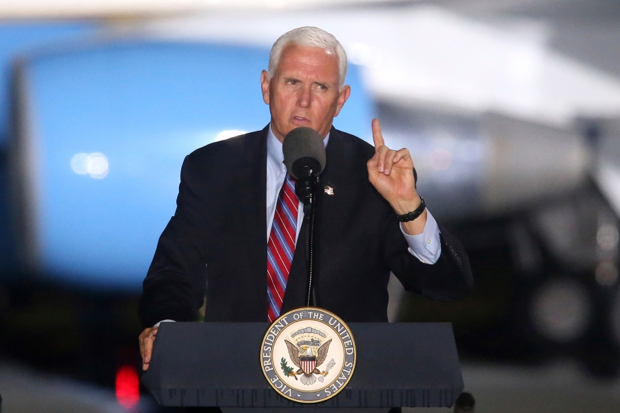 VP Pence's top aide tests positive for coronavirus