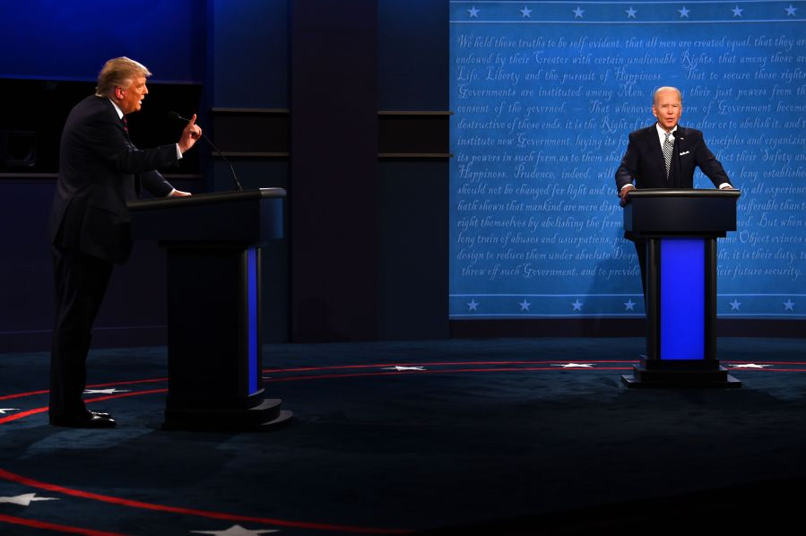 Commission to mute microphones in next presidential debate