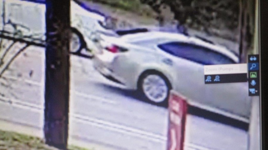 Car suspected of hitting on-duty Travis County deputy conducting traffic (TCSO Photo)