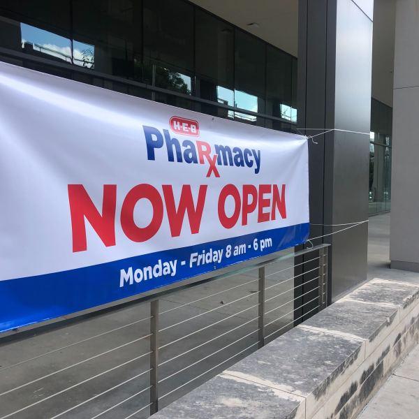 New H-E-B pharmacy at Dell Medical School (KXAN/Frank Martinez)