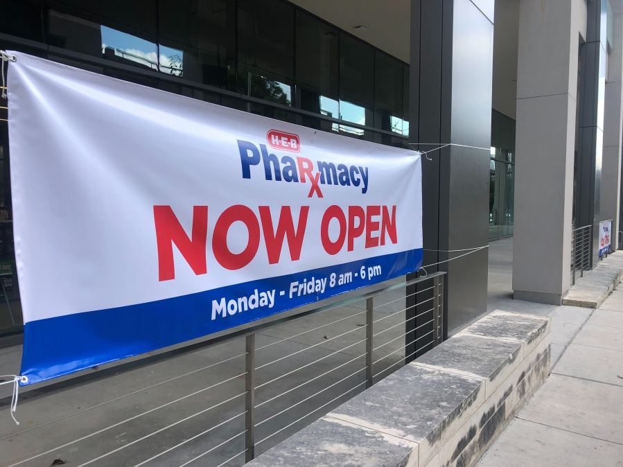 New H-E-B pharmacy at Dell Medical School (KXAN/Frank Martinez)