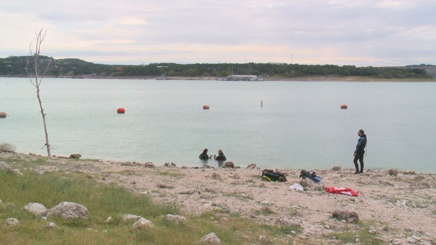 Volunteers come together virtually and in-person for annual Lake Travis Cleanup