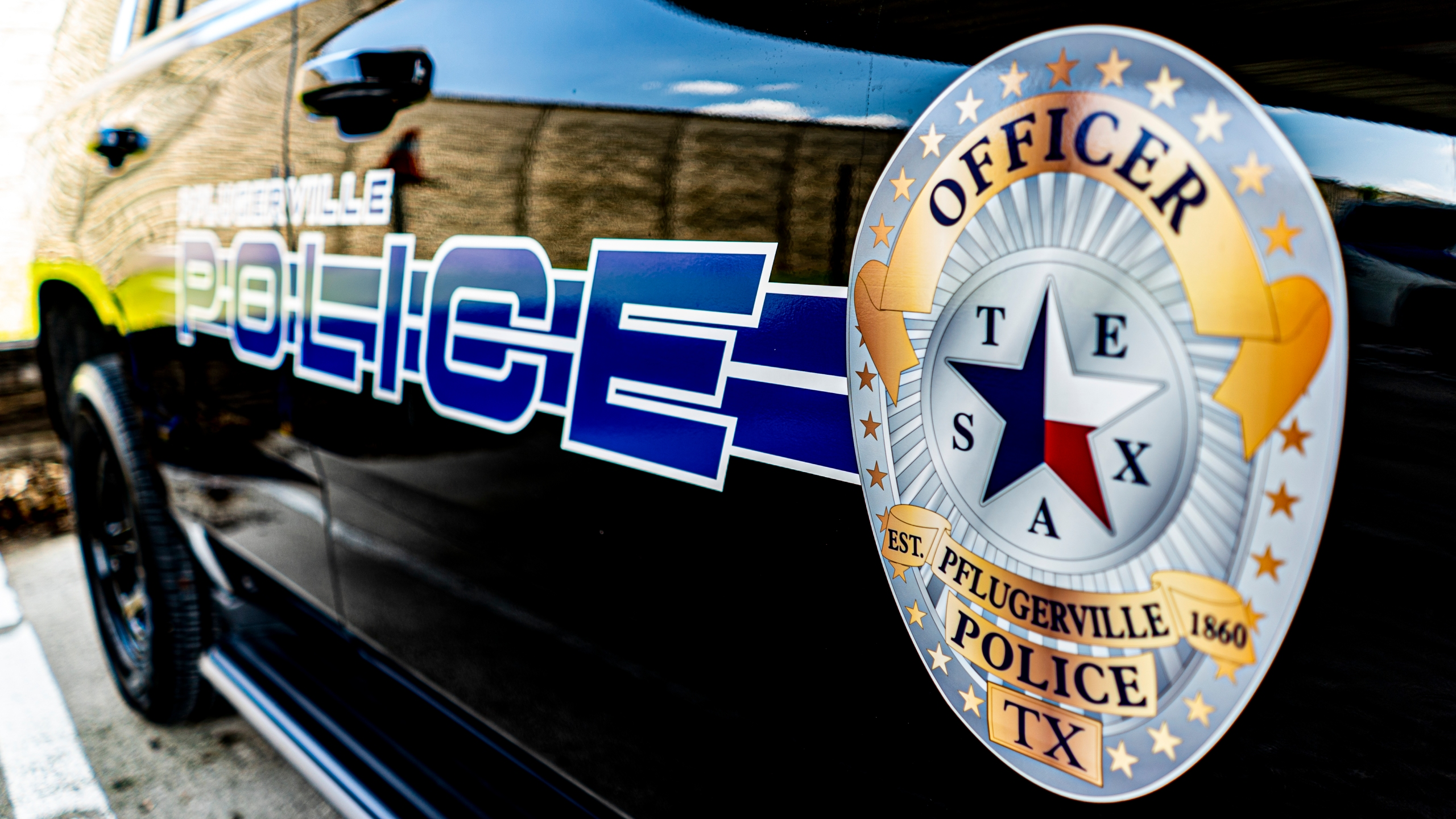 Pflugerville police vehicle (Pflugerville Police Department Photo)